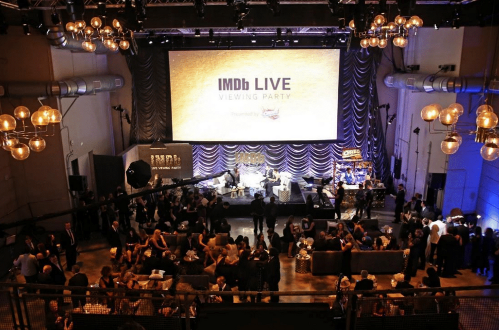 IMDb LIVE Viewing Party Gift Bag -