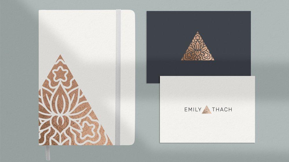 EMILY THACH - PROJECTBrand Strategy, Logo Design, Web Development