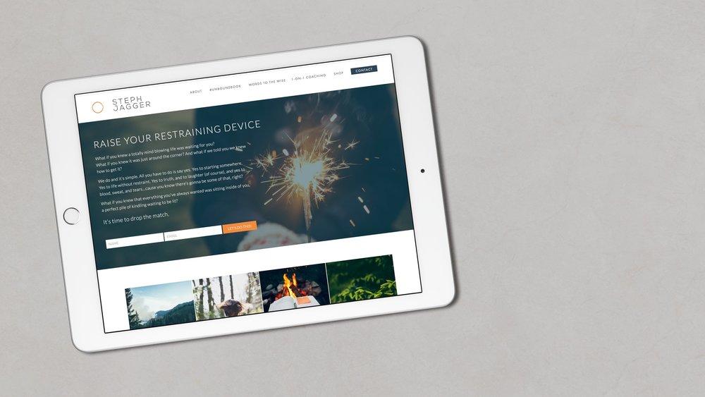 STEPH JAGGER - PROJECTBrand Strategy, Web Development, Digital Marketing