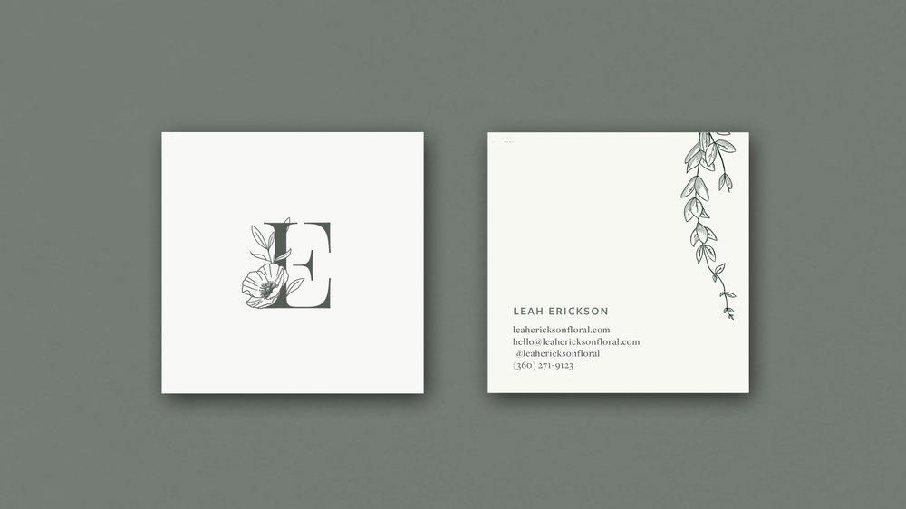 LEAH ERICKSON FLORAL - PROJECTBrand Strategy, Logo Design, Web DevelopmentComing Soon!