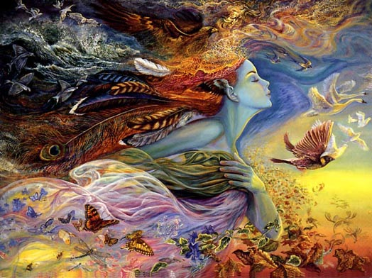 ARTIST JOSEPHINE WALL, THE SPIRIT OF FLIGHT