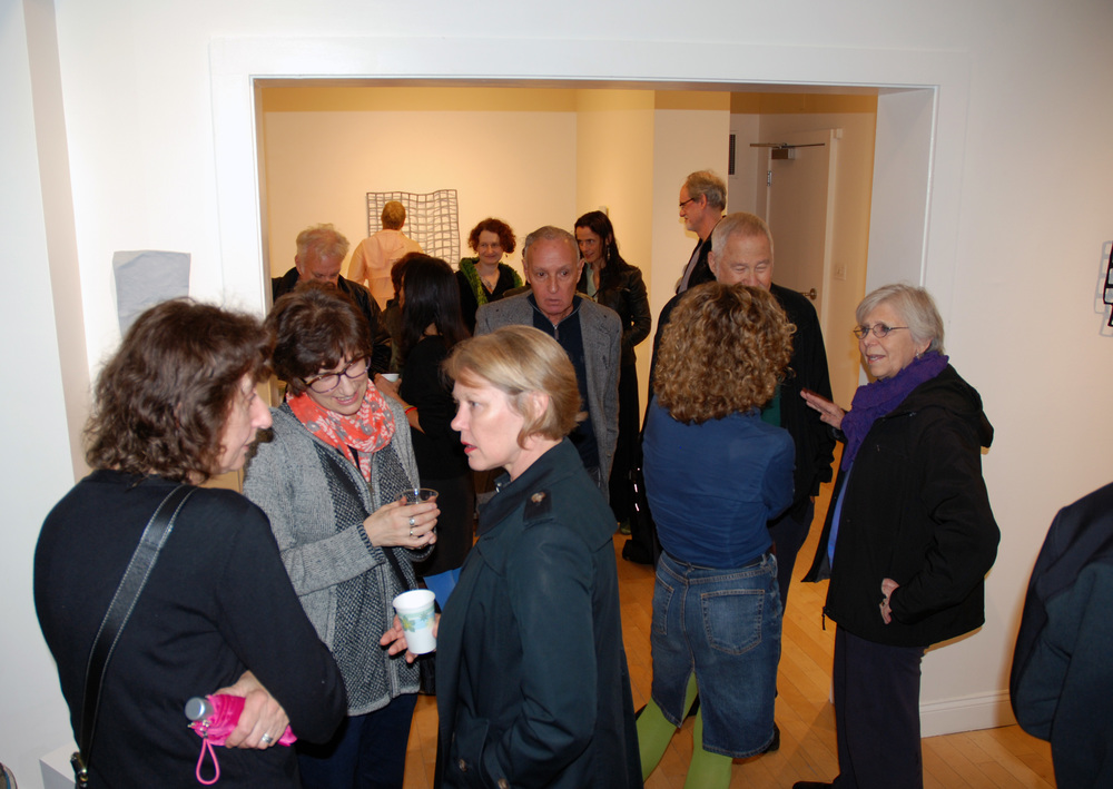 Opening reception, October 4, 2014, Lisa Perez in the AS220 Project Space...