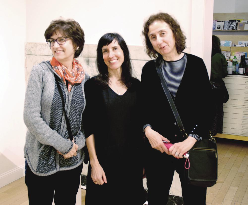 Mara Metcalf, Lisa Perez, Maria Napolitano.