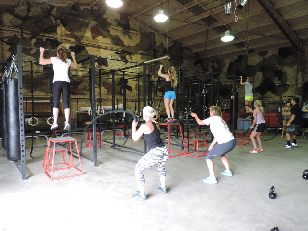 Group Workout at Inner Beast CrossFit