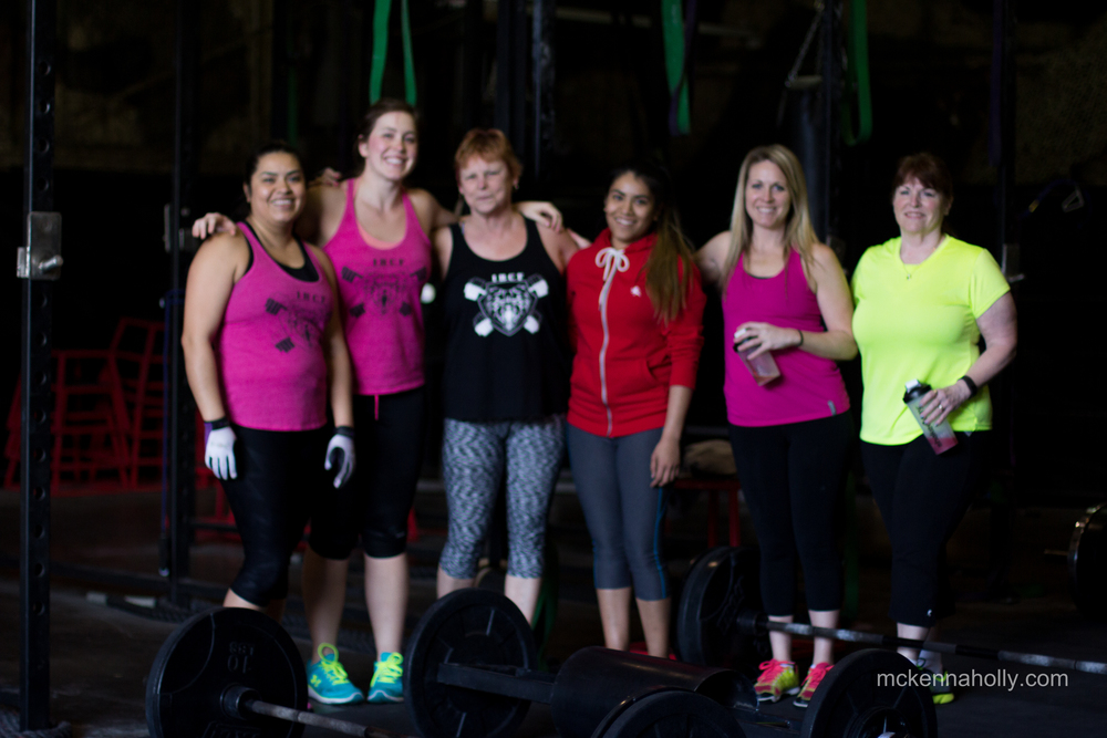 """Strong is the new skinny."" We love our CrossFit ladies."