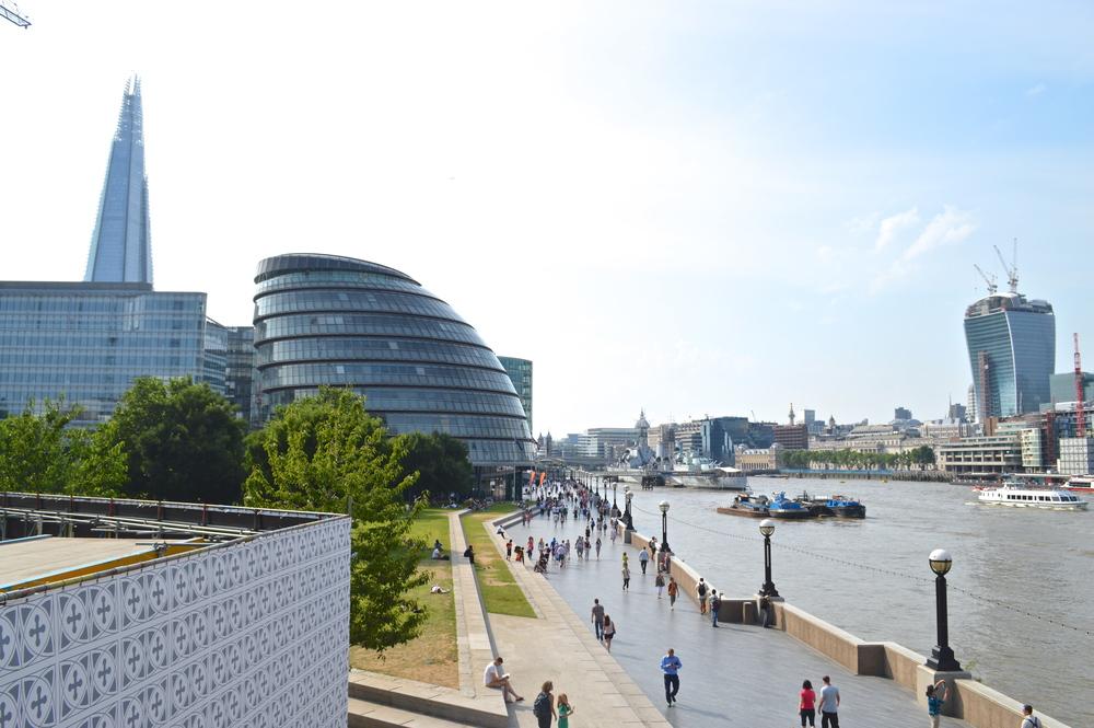 Vista da London Bridge