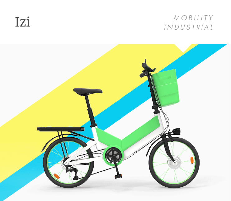 A bike-to-work system that rewards employees and introduces the bike as a way to commute