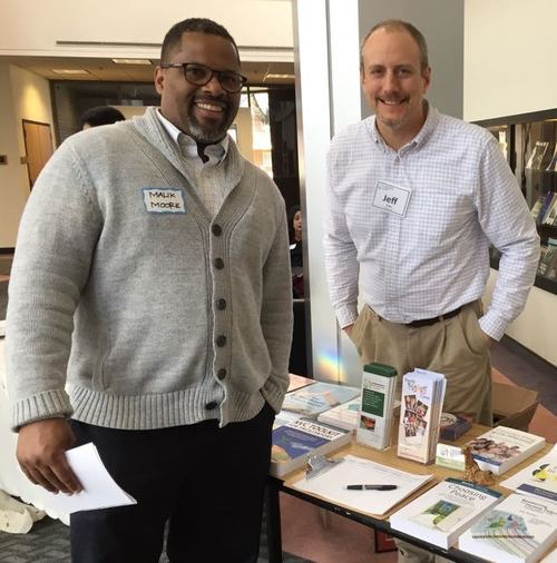 Malik Moore (pictured left) and Jeff Brown (right) YMCA of Central Ohio in 2015.