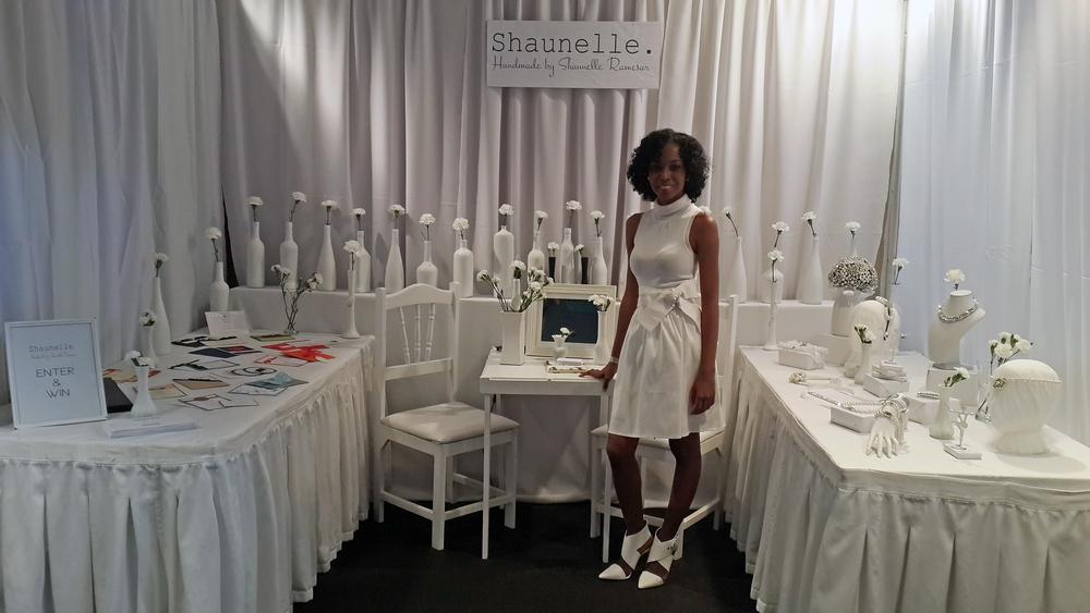 Designer Shaunelle Ramesar.