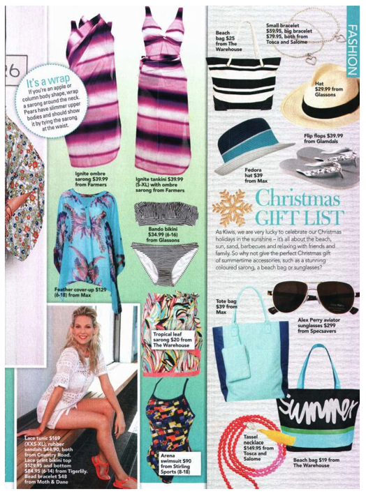 Glamdals in NZ Womens Weekly Dec 10 2012