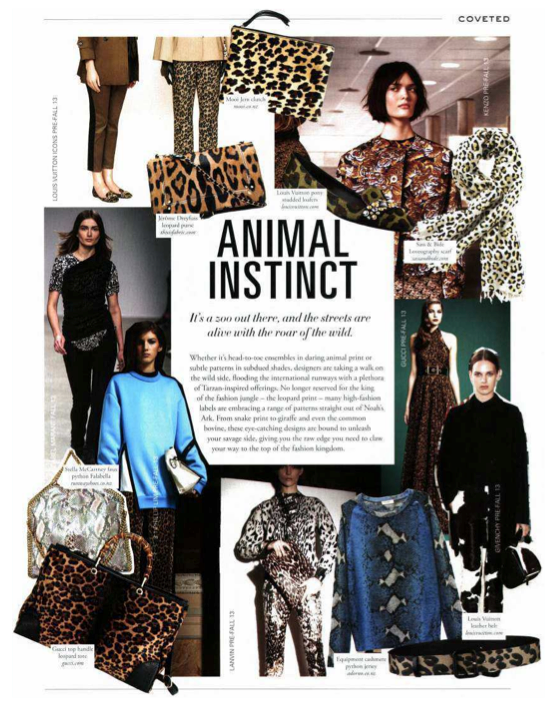 Mooi JEM Leopard The Denizen June 2013