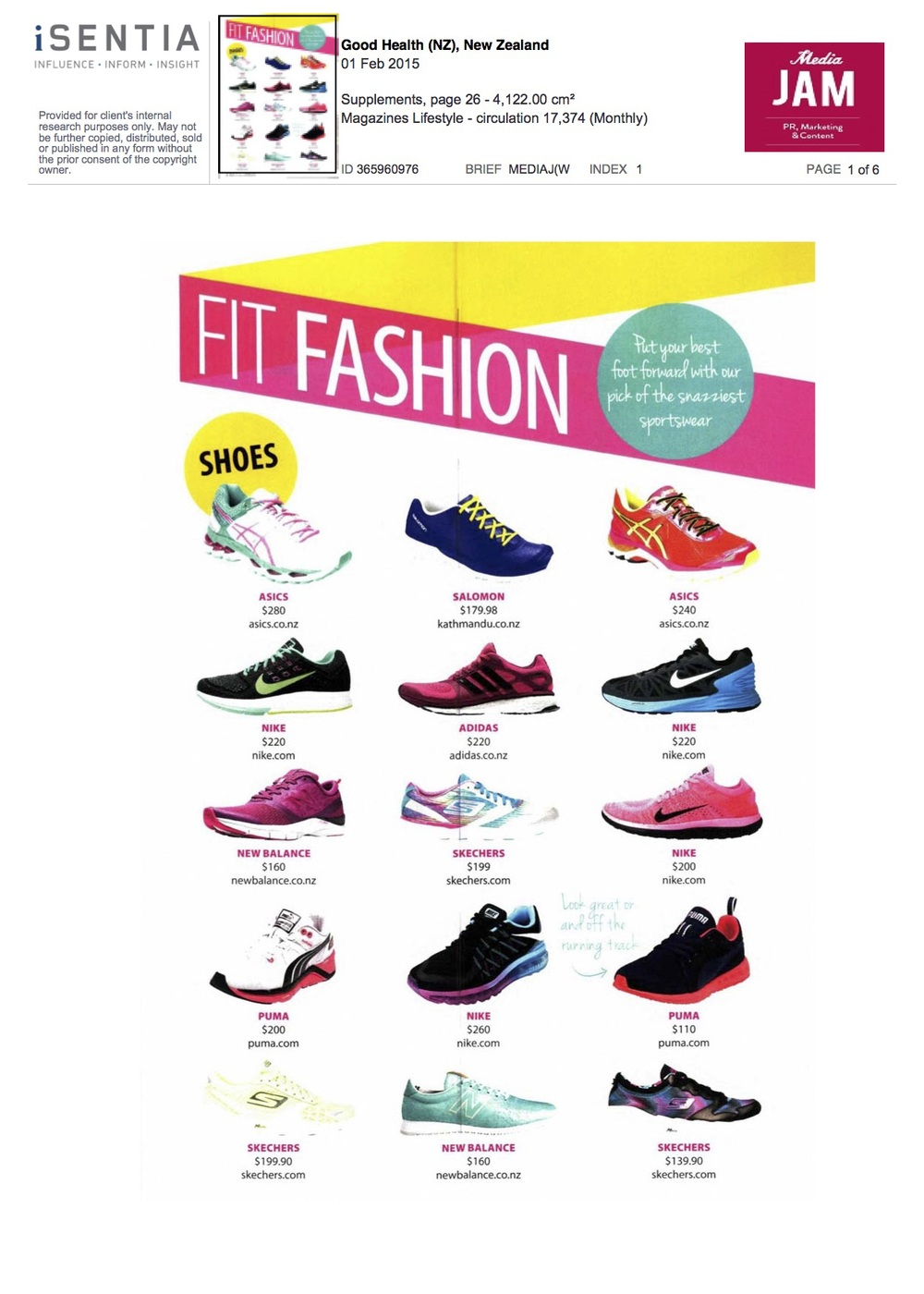 Good Health Magazine Feb 2015 Fit Fashion Featuring New Balance.jpg