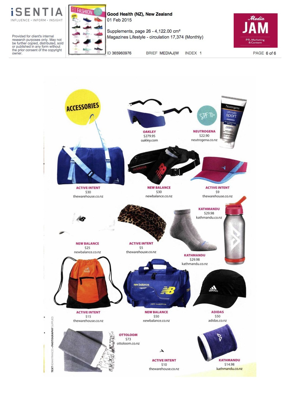 6Good Health Magazine Feb 2015 Fit Fashion Featuring New Balance.jpg