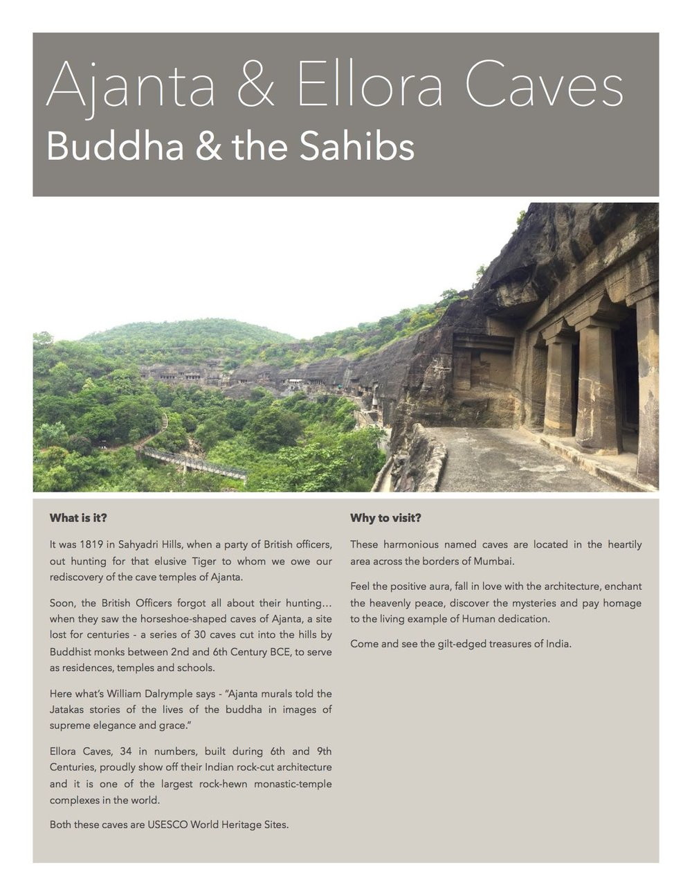 Ajanta & Ellora - The caves in Aurangabad, India