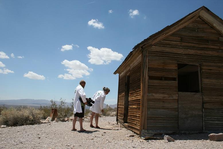 Exploring Death Valley, U.S.