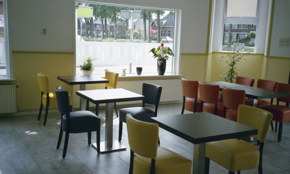 The cafe in Ter Apel, Holland (2013)