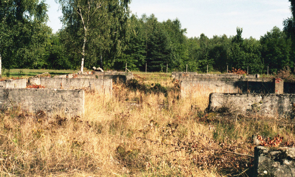 The site of Lamsdorf Stalag VIII-B, Łambinowice, Poland (2013)