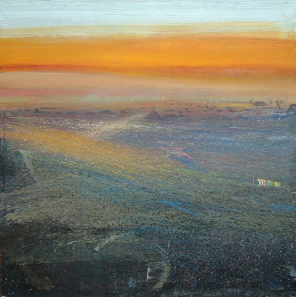 Hanglider, Derbyshire, Late Evening.5'x5'sq .jpg