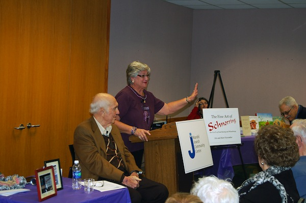Mort and Iris November Speaking at JCC