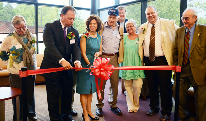 Beachwood Library Ribbon Cutting