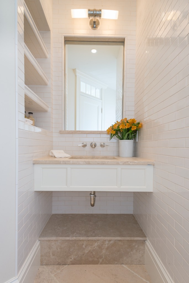 Malibu Powder Room