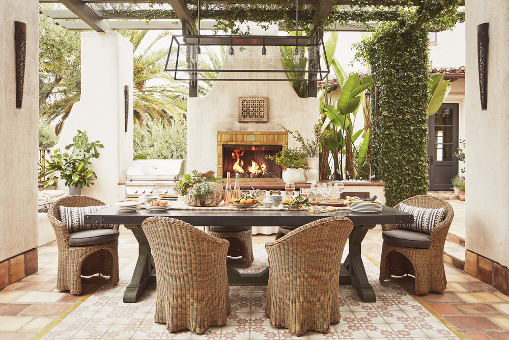 Outdoor dining design & Malibu | Santa Monica Mountain Estate u2014 Tammy Randall Wood ASID ...