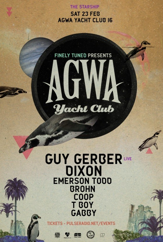 AGWA 016: Featuring Guy Gerber & Dixon.