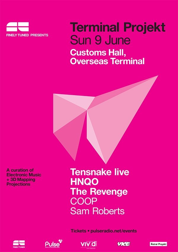 Terminal Projekt: Sunday's Finale featuring Tensnake Live, HNQO & The Revenge.