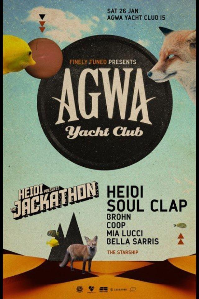 AGWA 015: Featuring Heidi & Soul Clap.