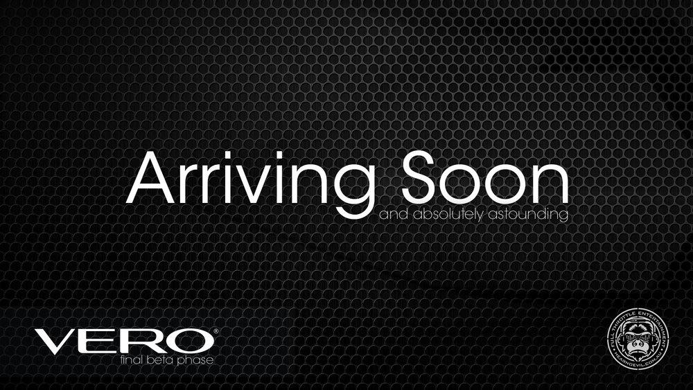 Arriving Soon...