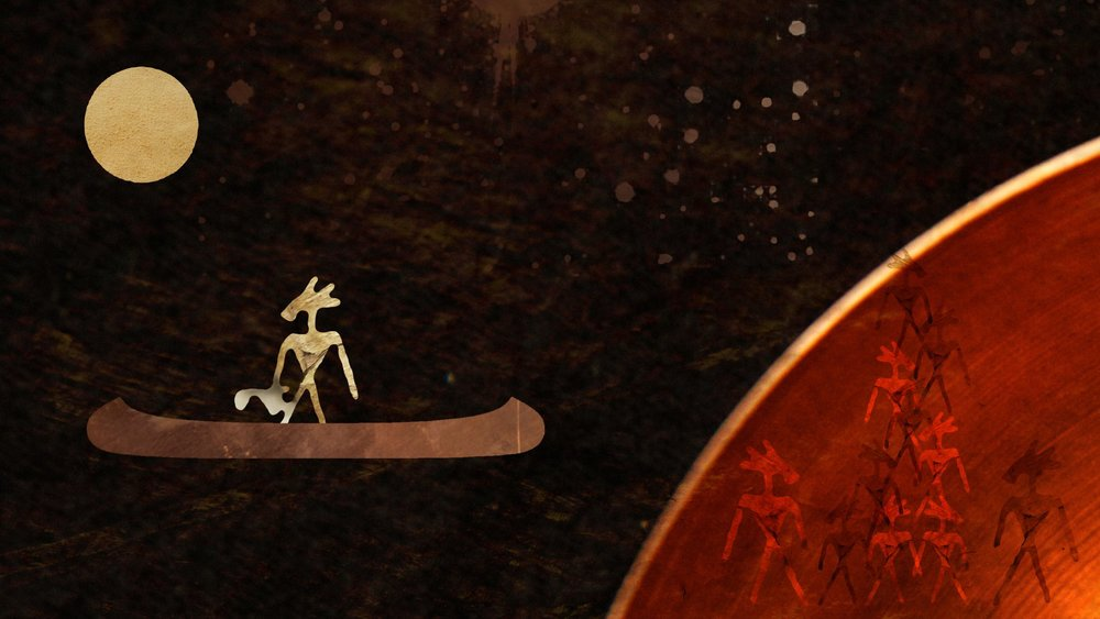 A still taken from The Path Without End, 2011. Watch the video at http://vimeo.com/32861833