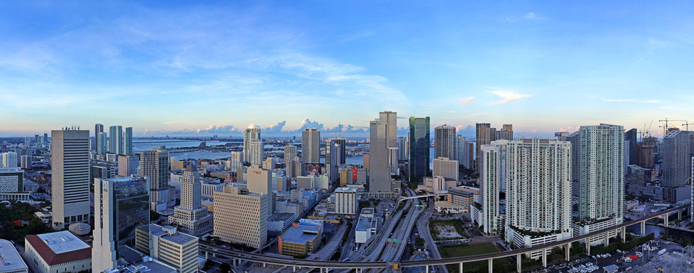 Skyline Panoramic - Downtown Miami, FL