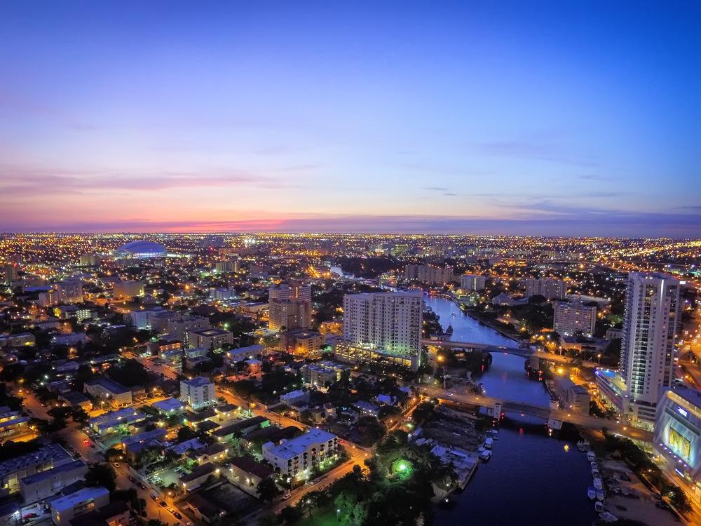 East Little Havana, Miami Drone Image via Azeez Bakare Studios