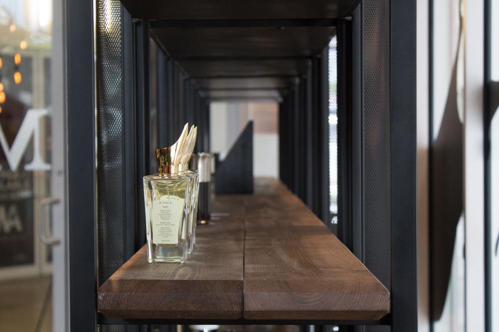 © Azeez Bakare Studios // osme perfumery wynwood arcade interio