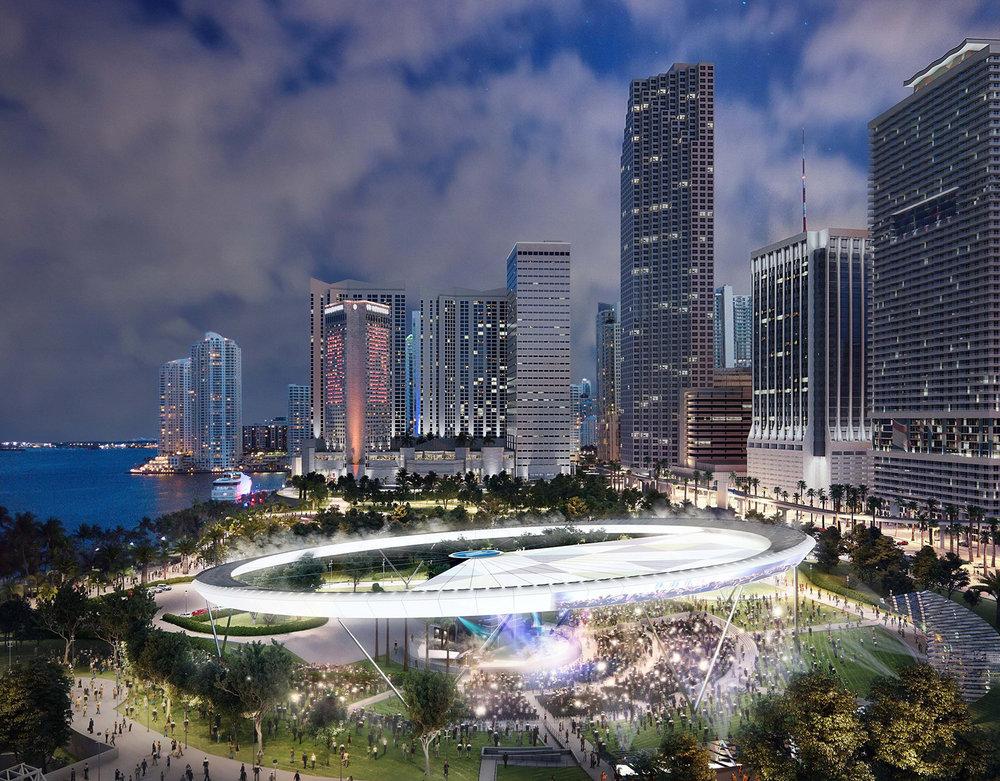 Bayfront Circle | 3D Rendering via Azeez Bakare Studios