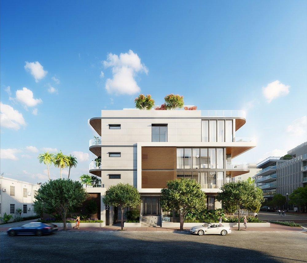 South Beach Miami Development Proposal | 3D Rendering via Azeez Bakare Studios