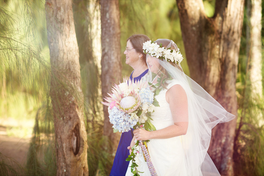 Maui Wedding Photography - Walking in