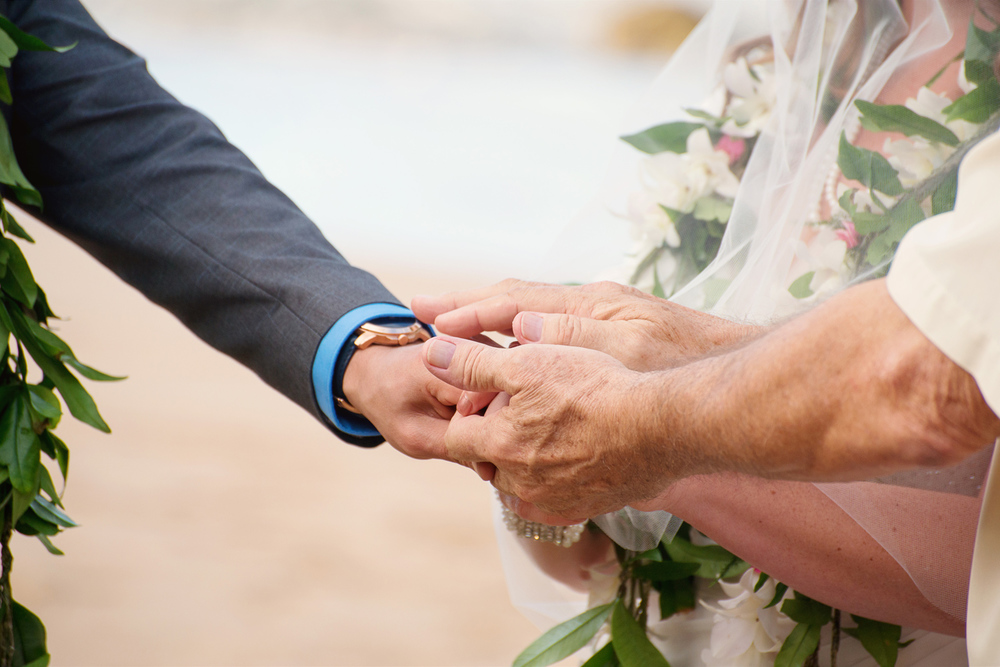 Maui Wedding Photography - Holding Hands