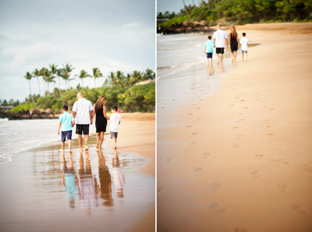 Maui Family Photography - Walking