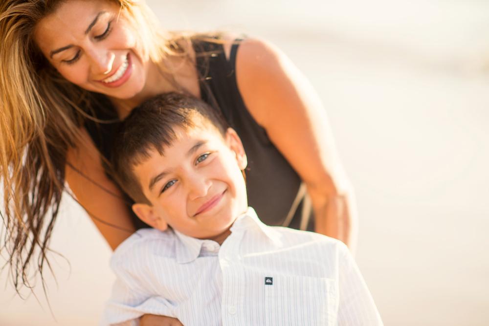 Maui Family Photography - Mom & Son
