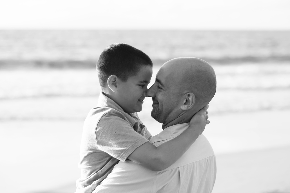 Maui Family Photography - Son & Dad