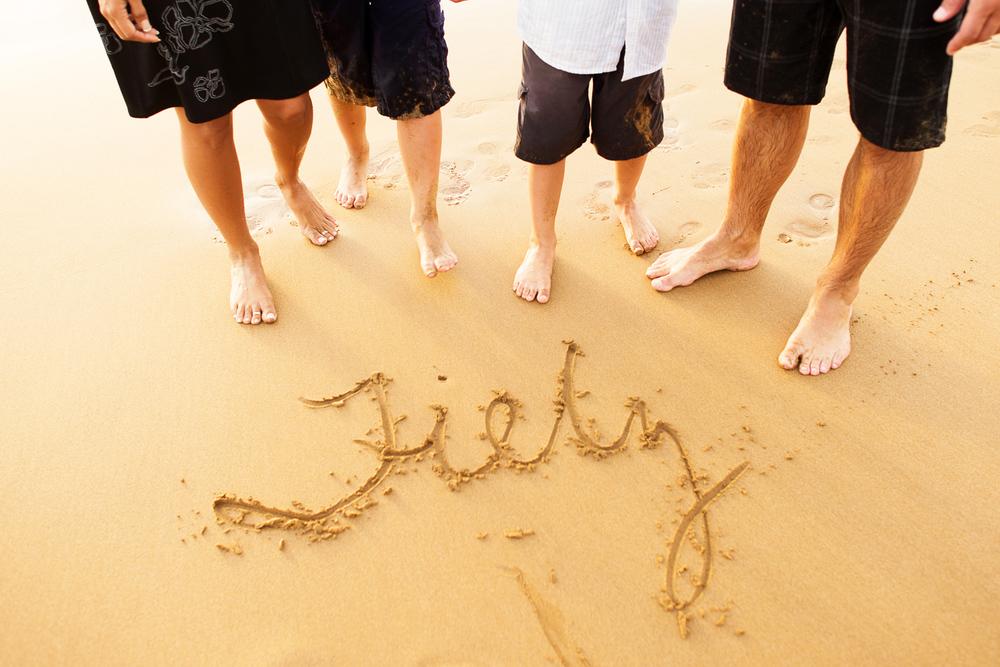 Maui Family Photography - Sandwriting