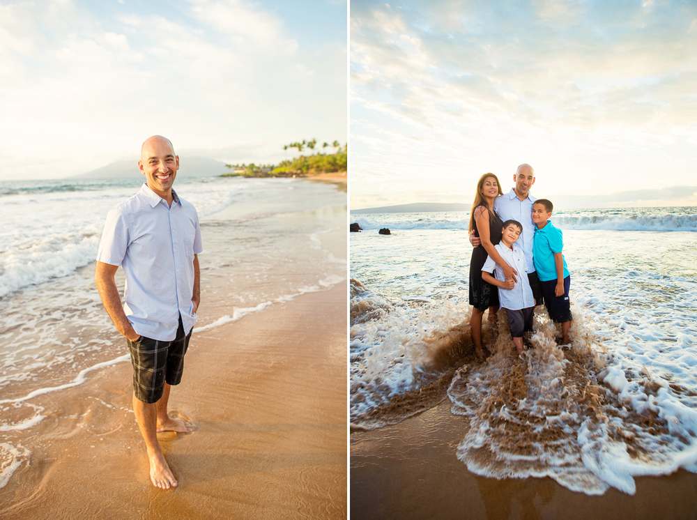 Maui Family Photography - Proud Dad