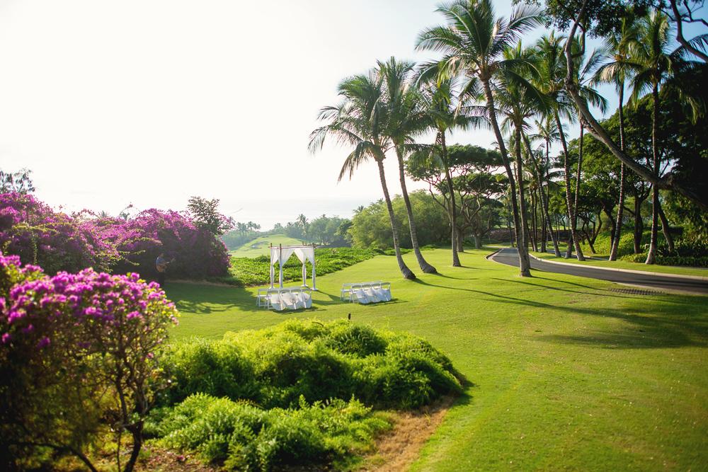 Maui Wedding Location - Gannons's Lower Lawn