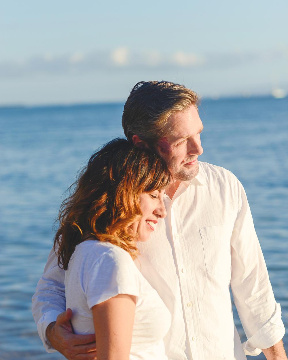 Maui Family Photography - Baby Beach Lahaina