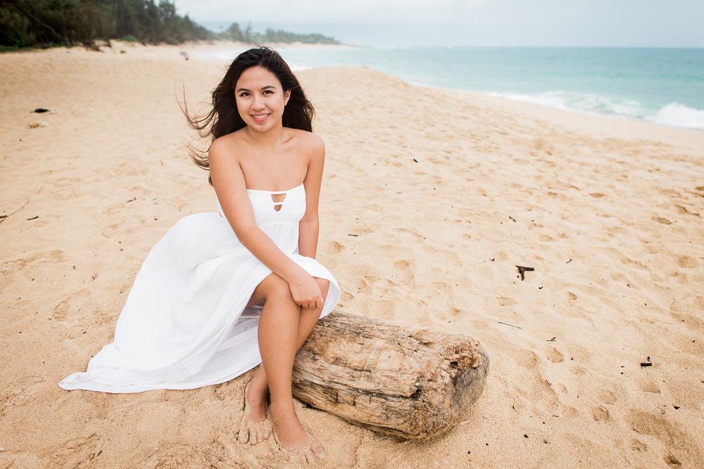 Maui Senior Portraits - Baldwin Beach