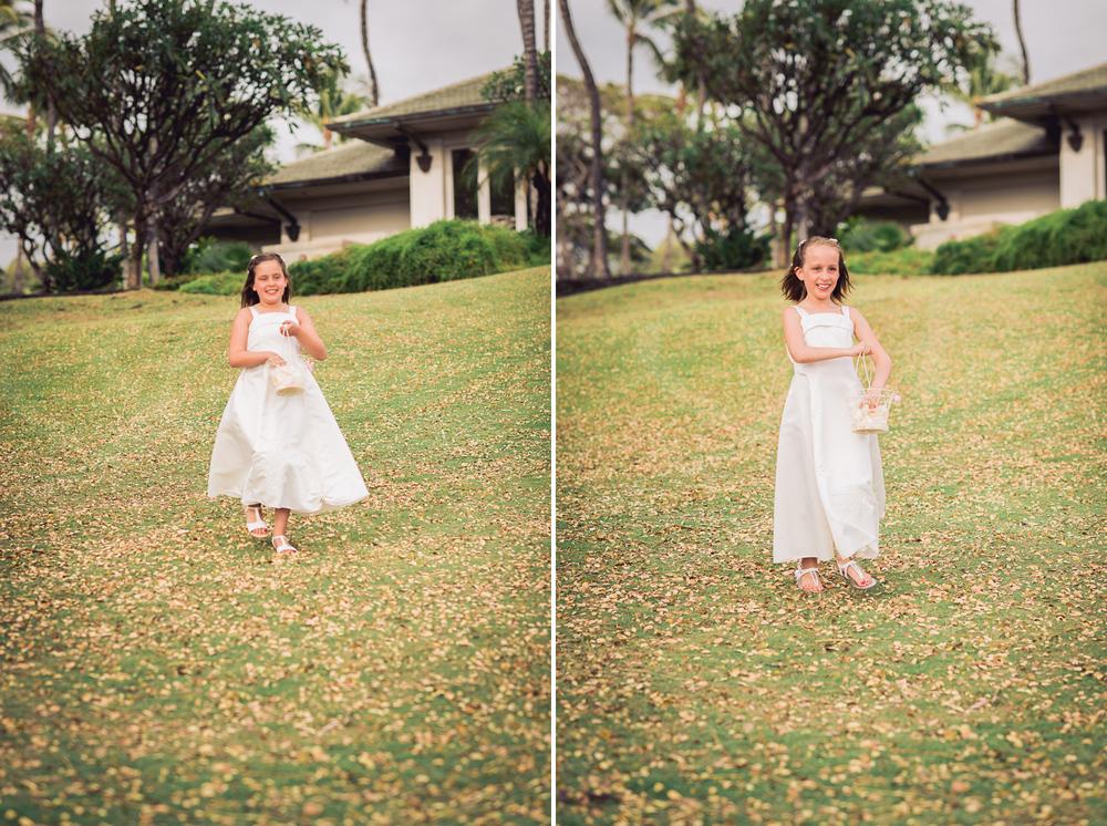 Maui Wedding Photography - Flower Girls