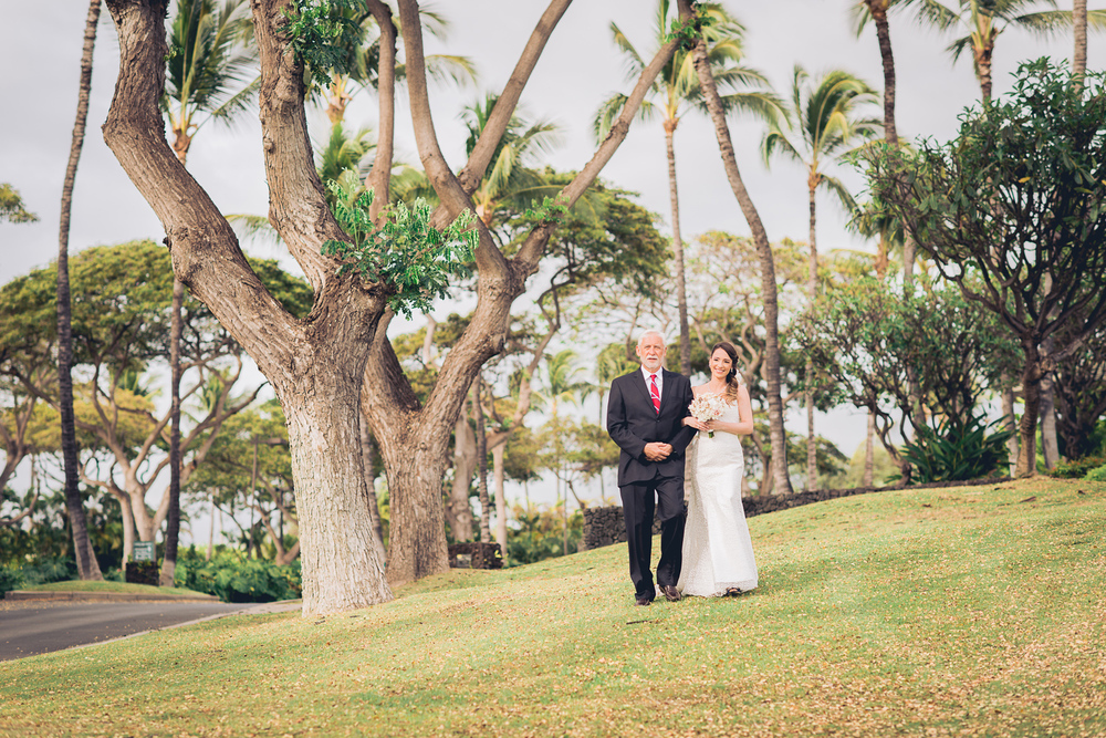 Maui Wedding Photography - The Bride is arriving