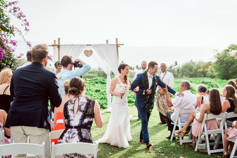 Maui Wedding Photography - The are Married
