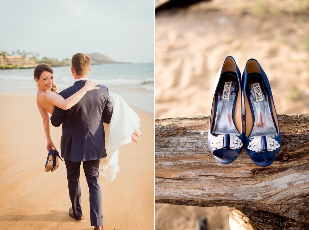 Maui Wedding Photography - The Couple at the Beach